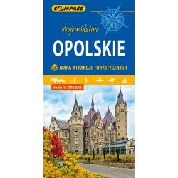 Województwo Opolskie  Mapa Atrakcji Turystycznych