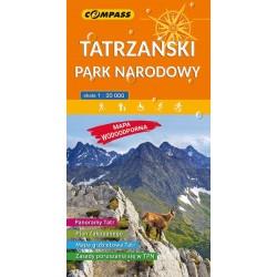 Mapa Tatrzański Park Narodowy w. laminowana