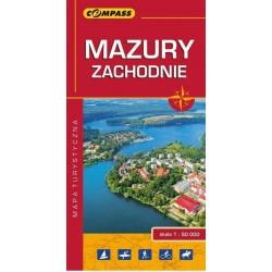 Mazury Zachodnie wer.laminowana