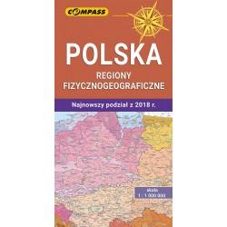 Polska Regiony Fizycznogeograficzne