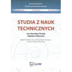 Studia z nauk technicznych Zeszyt 5