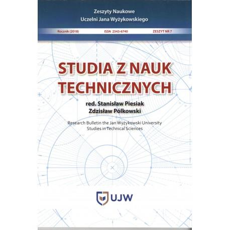 Studia z nauk technicznych Zeszyt 7