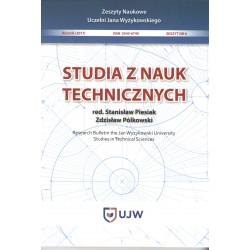 Studia z nauk technicznych Zeszyt 6