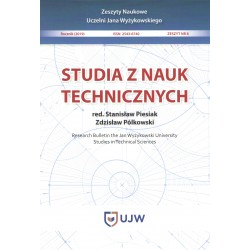 Studia z nauk technicznych Zeszyt 8