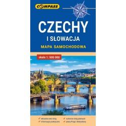 Czechy i Słowacja – mapa samochodowa