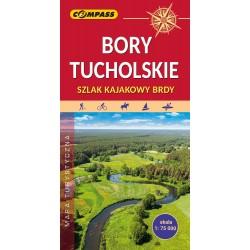 Bory Tucholskie. Szlak kajakowy Brdy