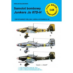 Samolot bombowy Junkers JU 87D-H