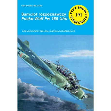 Samolot rozpoznawczy Focke-Wulf Fw 189 Uhu