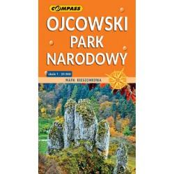 Ojcowski Park Narodowy mapa kieszonkowa