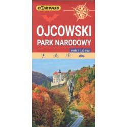 Ojcowski Park Narodowy. Mapa turystyczna 1:20 000