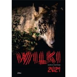 Kalendarz 2021 Wilki (czarny)