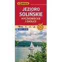 Jezioro Solińskie, Myczkowieckie i okolice mapa turystyczna 1: 25 000