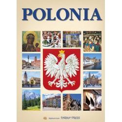 Polonia Polska z orłem wersja hiszpańska