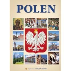 Polen Polska z orłem wersja niemiecka