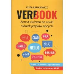 Verbook. Zeszyt ćwiczeń do nauki słówek języków obcych. Część 1