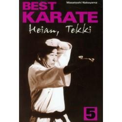 Best karate 5 Heian, Tekki