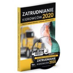 Zatrudnianie kierowców 2020. Umowy, badania lekarskie i szkolenia, dokumentacja + CD z wzoram