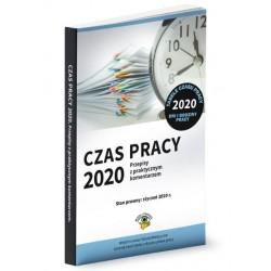 Czas pracy 2020. Przepisy z praktycznym komentarzem