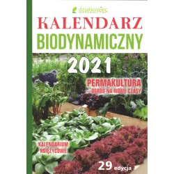 Kalendarz biodynamiczny 2021 (książkowy)