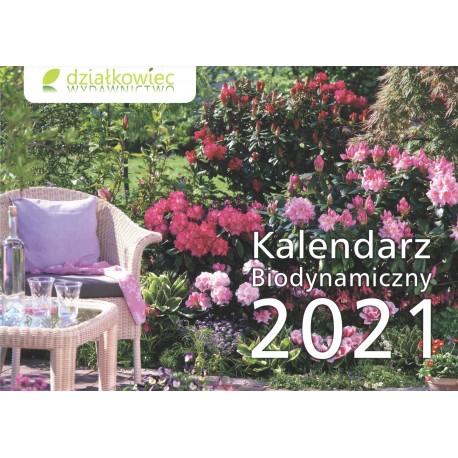 Kalendarz biodynamiczny 2021 (ścienny)