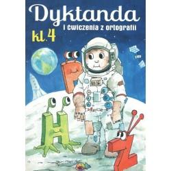 Dyktanda i ćwiczenia z ortografii Klasa 4