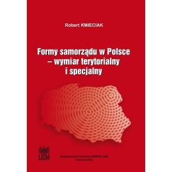 Formy samorządu w Polsce. Wymiar terytorialny i specjalny