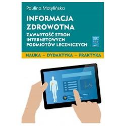 Informacja zdrowotna. Zawartość stron internetowych podmiotów leczniczych