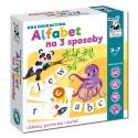 Gra edukacyjna Alfabet na 3 sposoby