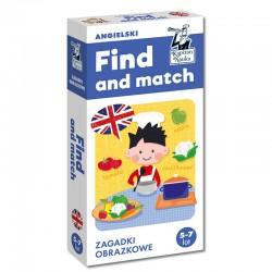 Find and match. Zagadki obrazkowe