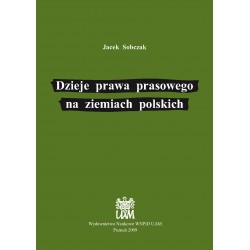 Dzieje prawa prasowego na ziemiach polskich