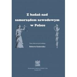 Z badań nad samorządem zawodowym w Polsce