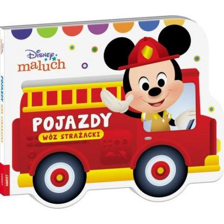 Pojazdy Wóz strażacki Disney Maluch