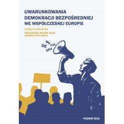 Uwarunkowania demokracji bezpośredniej we współczesnej Europie