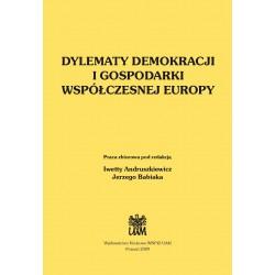Dylematy demokracji i gospodarki współczesnej Europy