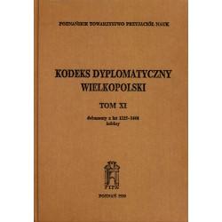 KOdeks dyplomatyczny Wielkopolski Tom XI