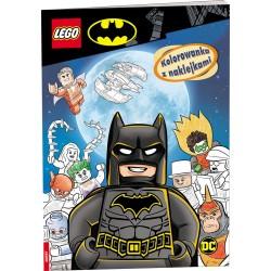 LEGO Batman Kolorowanka z naklejkami