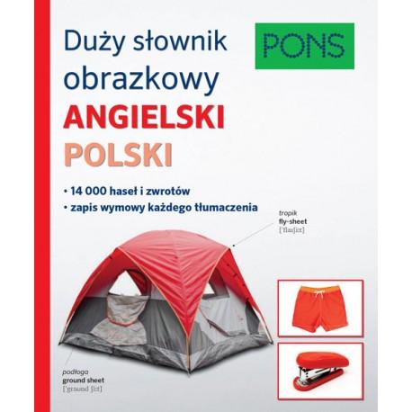 Duży słownik obrazkowy angielski polski