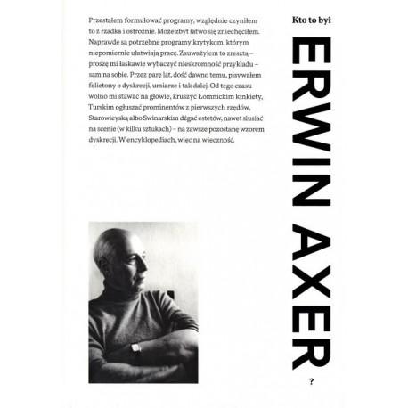 Kto to był Erwin Axer?