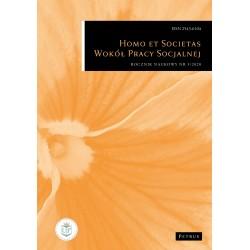 Homo et societas. Wokół pracy socjalnej 5/2020