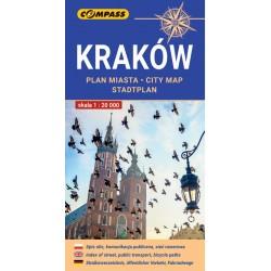Kraków plan miasta wyd 13