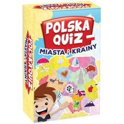 Polska Quiz. Miasta i krainy.