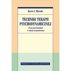 Techniki terapii psychodynamicznej
