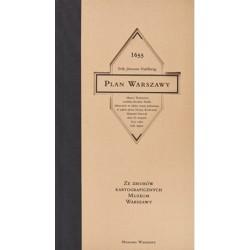 Plan Warszawy 1655