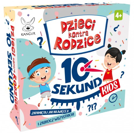 Dzieci kontra Rodzice 10 Sekund KIDS