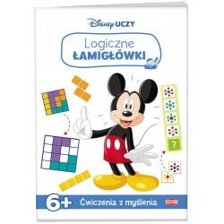 Disney Uczy 6 Miki Logiczne łamigłówki
