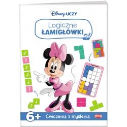 Disney Uczy 6 Minnie Logiczne łamigłówki