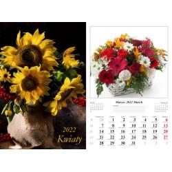 Kal 2022 Kwiaty