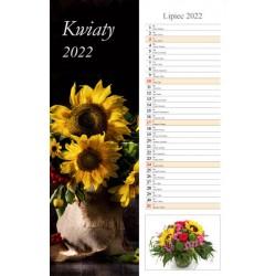 Kal 2022 Kwiaty Pasek