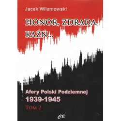 Honor Zdrada Kaźń Tom 2