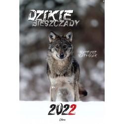 Kal 2022 Dzikie Bieszczady Wilk